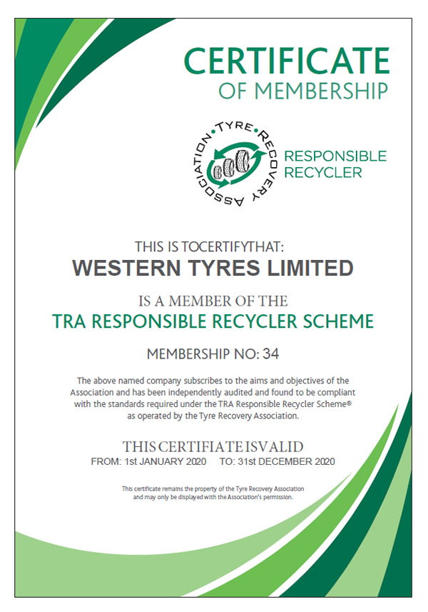 tyre recovery association RRS