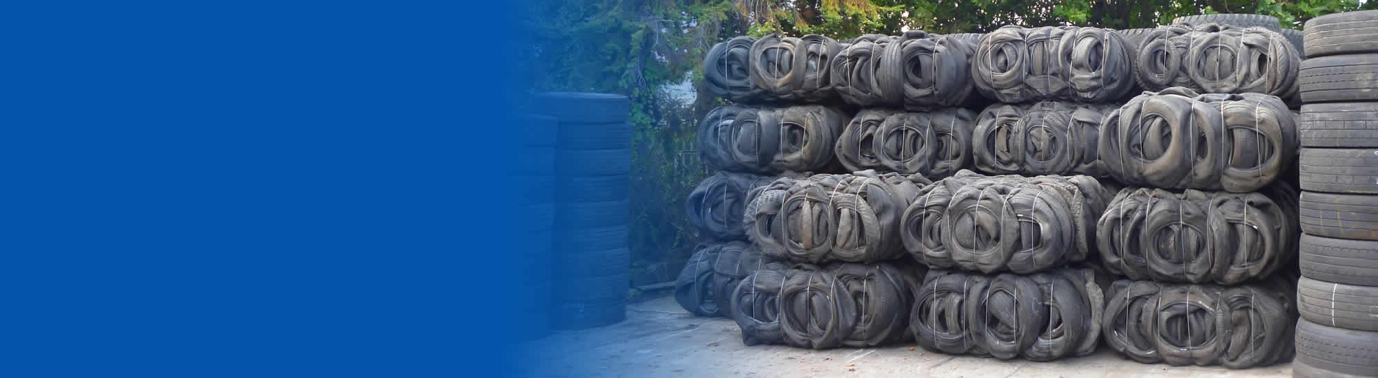 tyre bales for construction projects
